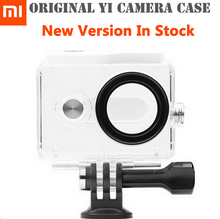 New Version IN STOCK! Original Xiaomi Yi Camera Waterproof Case, Mi Yi 40M Diving Sports Waterproof Box, Yi Camera Accessories