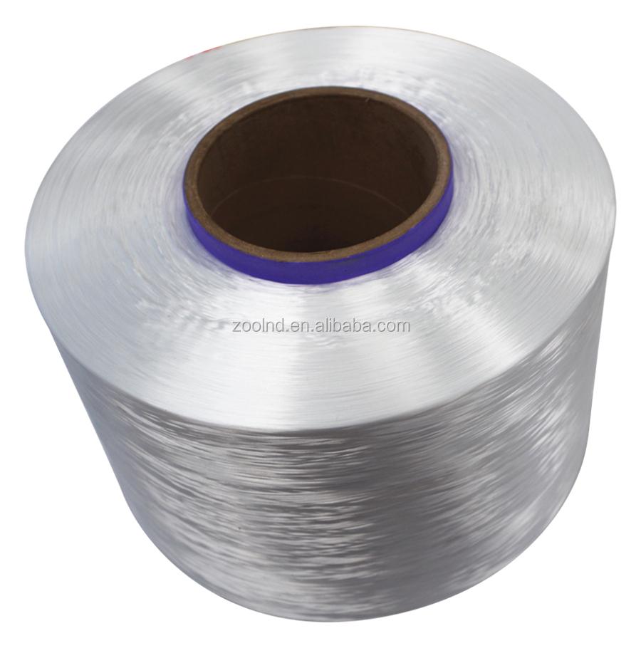 High Strength White 1200D Twisted Yarn PP Thread