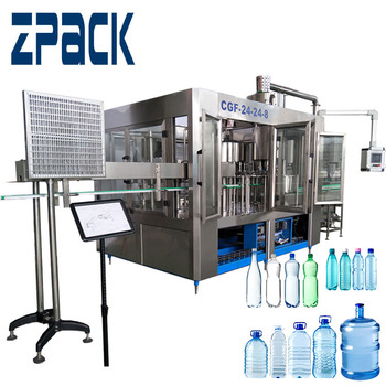 Full automatic factory supply price industrial mini mineral water plant machinery /mineral water bottling plant