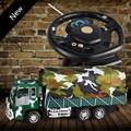 2017 Steering Wheel Remote Control Military Vehicle Drag Head Truck Charging Remote Control Car Model Toy