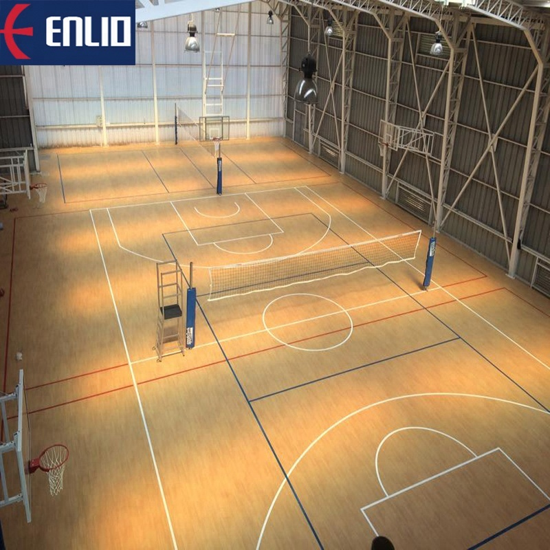 Enlio Multipurpose Indoor Basketball Court Sport Flooring View Basketball Court Flooring Enlio Product Details From Shijiazhuang Enlio Sports Goods Co Ltd On Alibaba Com