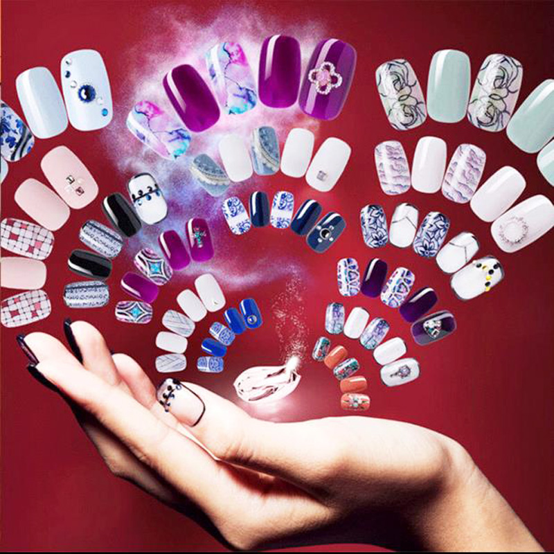 Shenzhen Trending 2020 Big Discount Mobile Nail Printer automatic nails finger Nails painting Machine art