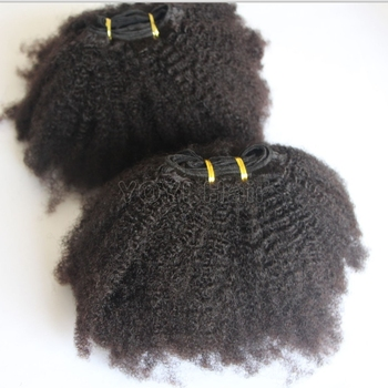 2020 Best selling afro Kinky twist curly hair extensions 4A 4B 4C , Virgin Mongolian puffy afro curly hair