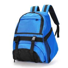 Футбольный баскетбольный рюкзак, школьная сумка для занятий фитнесом, для обуви, сетчатый рюкзак для хранения, водонепроницаемый Оксфордск...(Китай)