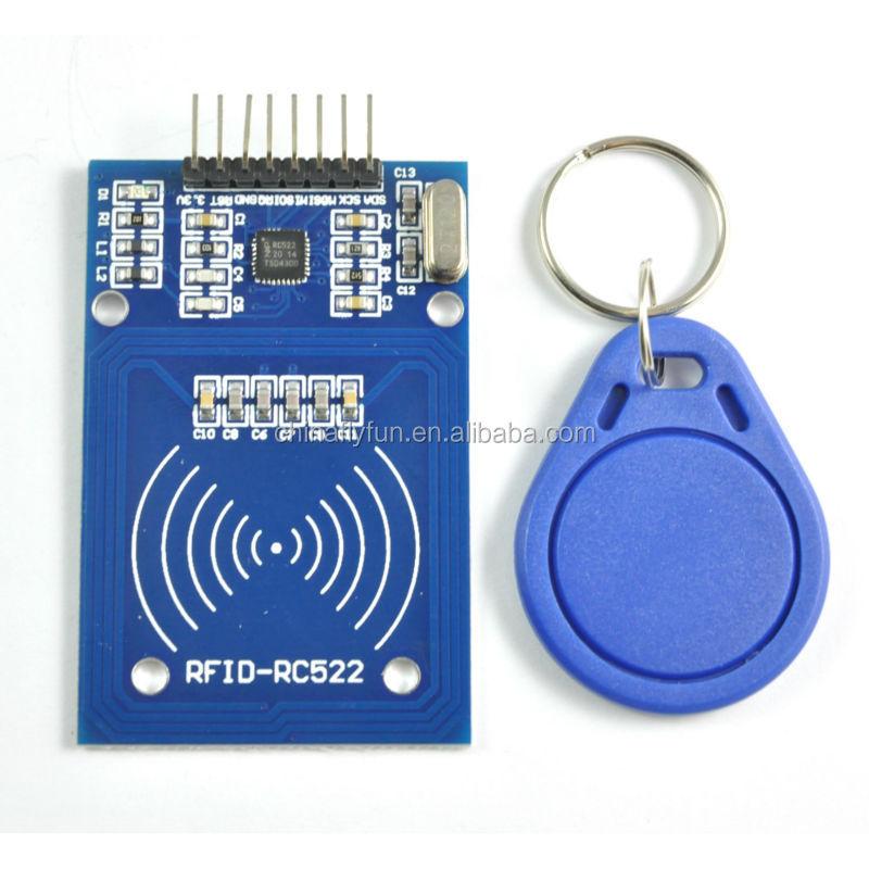 Modul IC Karten Induktions Sensor RC522 RFID freier S50 Karten Schlüsselkette CN