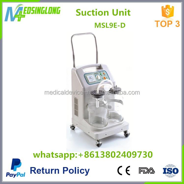 Больницы Электрический Аспиратор/медицинская электрическая машина Всасывания мокроты MSL23-DI