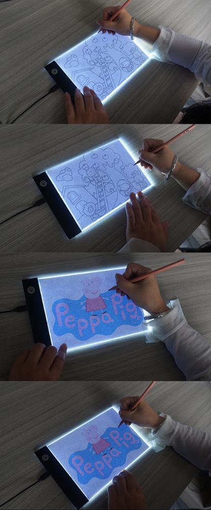 Лидер продаж с китайской фабрики, светодиодная подсветка Elice A2 A3 A4 A5 для рисования, доска для рисования, скетч-доска для рисования
