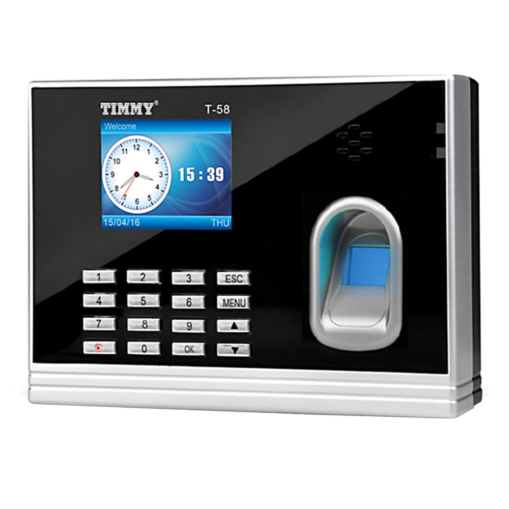 Linux Based Network Biometric Time In Time Out Finger Print Attendance