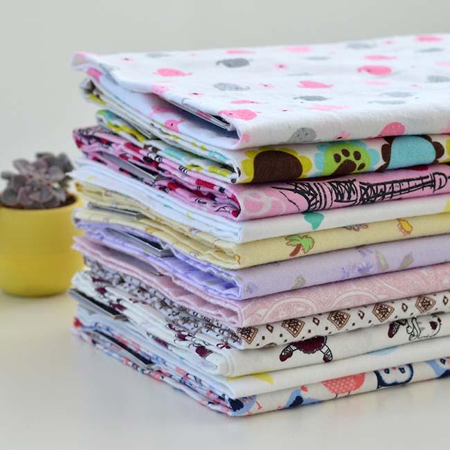 Free sample Children's pajamas whole 100% cotton fabric