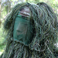 5pc set Broken Filament Camouflage Clothing Jungle Grass Ghillie Suit with Headgear Bird Watching Hunting Bionic