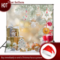 Kate Yellow Frozen Photography Backdrop Christmas Winter SnowGifts Christmas Decoration Photography Background Fond Photographie