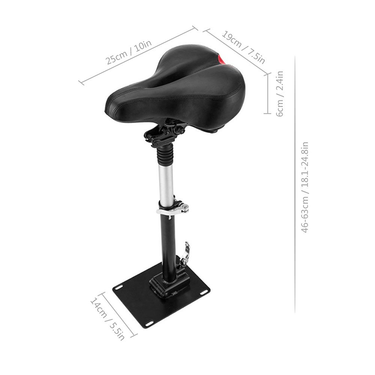 Adjustable High Quality Adjustable comfortable Seat Chair For Mijia M365 Electric Scooter