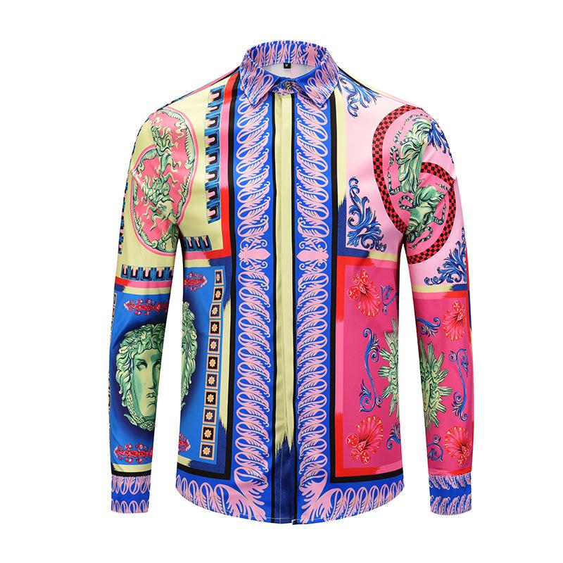 b9d627f35174 Compre 2018 Nuevo Estilo De La Marca Camisa De Los Hombres Camisas ...