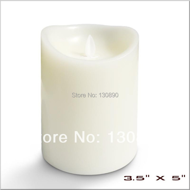 3.5X5'' Battery Operated Flameless Moving Flame Wick LED