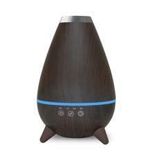 400 мл ультразвуковой увлажнитель воздуха, Электрический распылитель эфирных масел, ароматерапия, FoggerLED очиститель света(Китай)