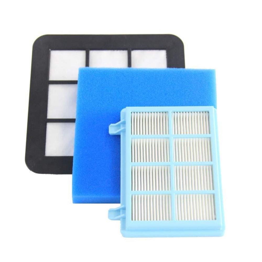 Replacement HEPA Filter Set for Philips FC9331 FC9332 FC8010 Vacuum Cleaner Dust