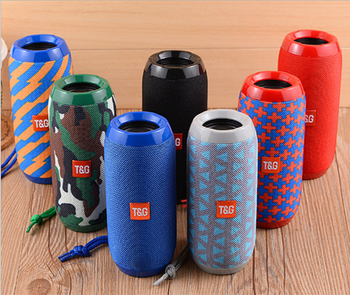 Portable TG117 Cloth Wireless Speaker V4.2 Fabric BT Speaker Customize TG-117 Speaker Support TF/USB/Hands-free Call
