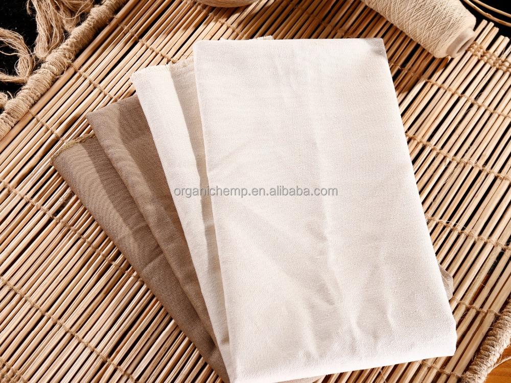100% пеньковый холст для одежды и постельного белья