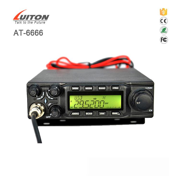 anytone cb radios at-6666 27mhz cb radio hf ssb transceiver