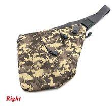 Нейлоновая Скрытая сумка через плечо, Тактическая Военная кобура для пистолета, правая/левая Наплечная охотничья сумка, кобура 5 цветов(Китай)