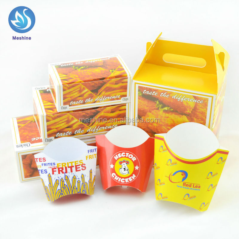 Paper Fried Chicken Box,Fast Food Packaging,Paper Box For