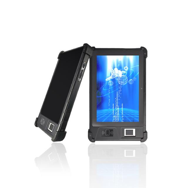 HFSecurity ФБР Сертифицированный временной посещаемость HF FP08 крутой Тип Android 9,0 планшет мобильный считыватель отпечатков пальцев NFC бирка с Wi-Fi 4G заводское устройство бесплатное sdk ISO14443 Тип A B