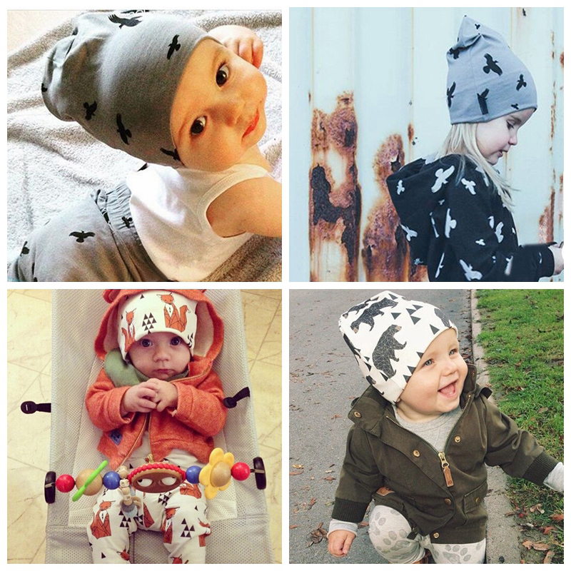 bac294f24e75d 2015 New Winter Warm Cotton Baby Hat Girl Boy Toddler Infant Kids Caps  Lovely Animal Knitted Crochet Baby Beanies Accessories