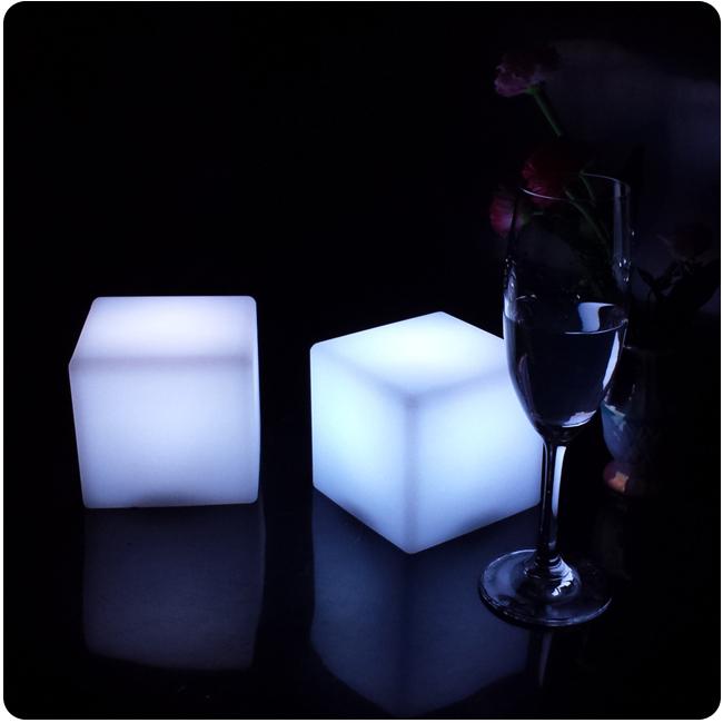 Aliexpress.com : Buy 10cm Cube decorative battery operated ...