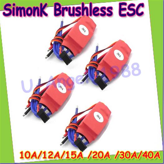 Free Shipping + 1pcs/lot Simonk 10A/12A/15A /20A /30A/40A Firmware Electronic