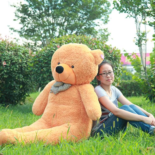 large doll giant teddy bear 200 cm 2m 78 huge big stuffed. Black Bedroom Furniture Sets. Home Design Ideas