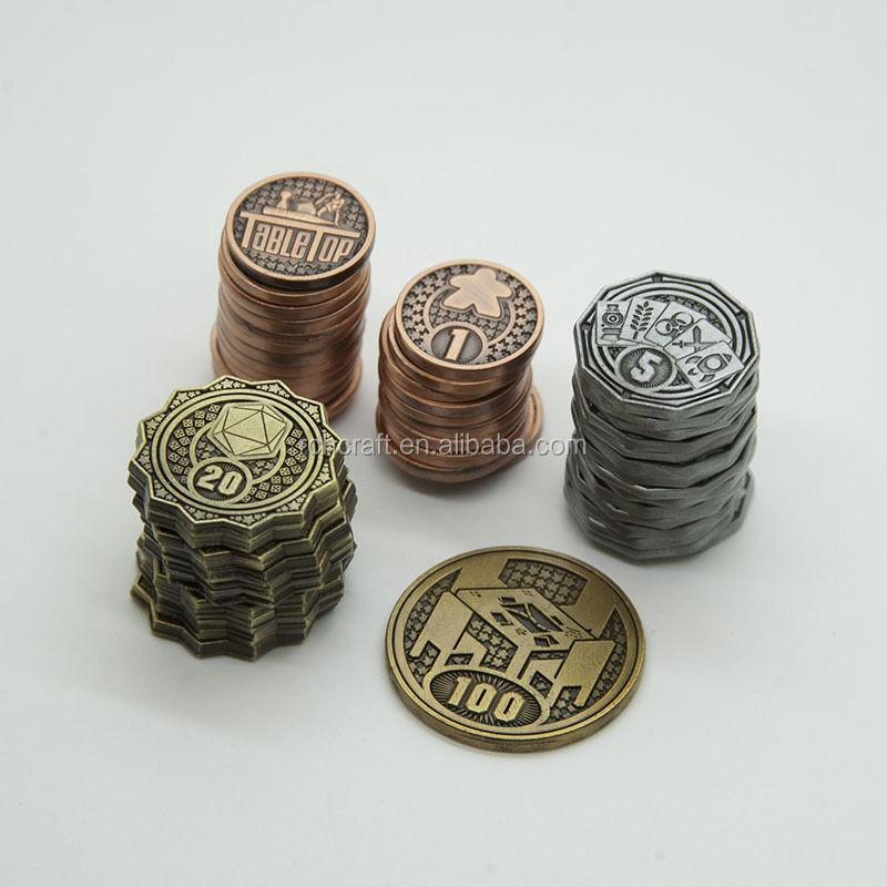 Заводская изготовленная на заказ сувенирная памятная металлическая сувенирная монета с логотипом