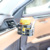 Adjustable auto air vent drinking cup adapter car holder