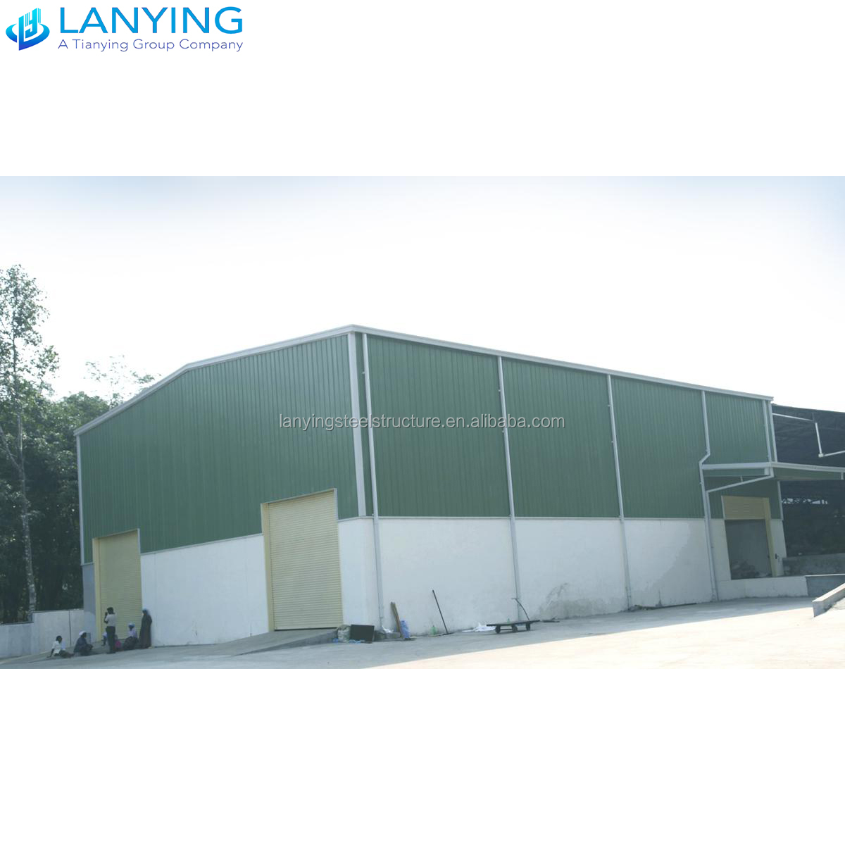 Low cost prefabricated steel shed/metal building/steel structure warehouse