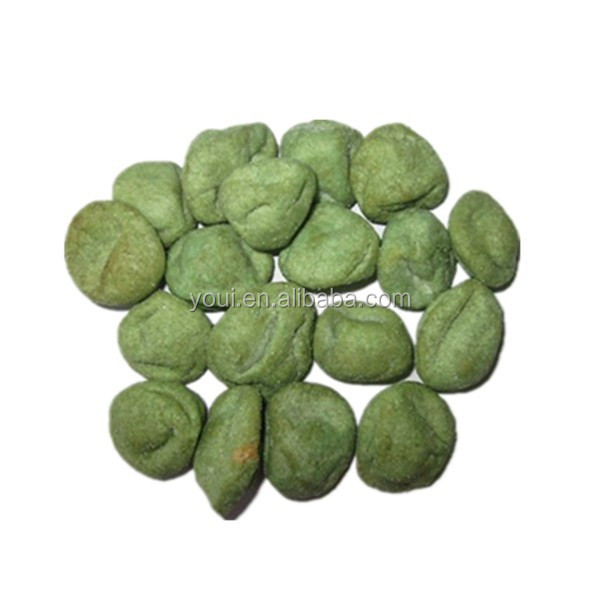 Wasabi raviolis / Wasabi Peanut Crackers