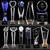 crystal trophy award