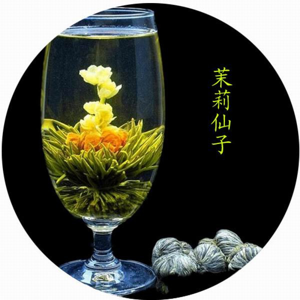Chinese natural and organic Blooming tea ,100% Handmade Flower Blooming Tea - 4uTea | 4uTea.com