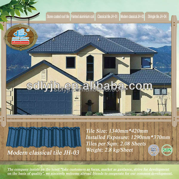 Metal Roofing Philippines Colorful Stone Coated Metal Roof