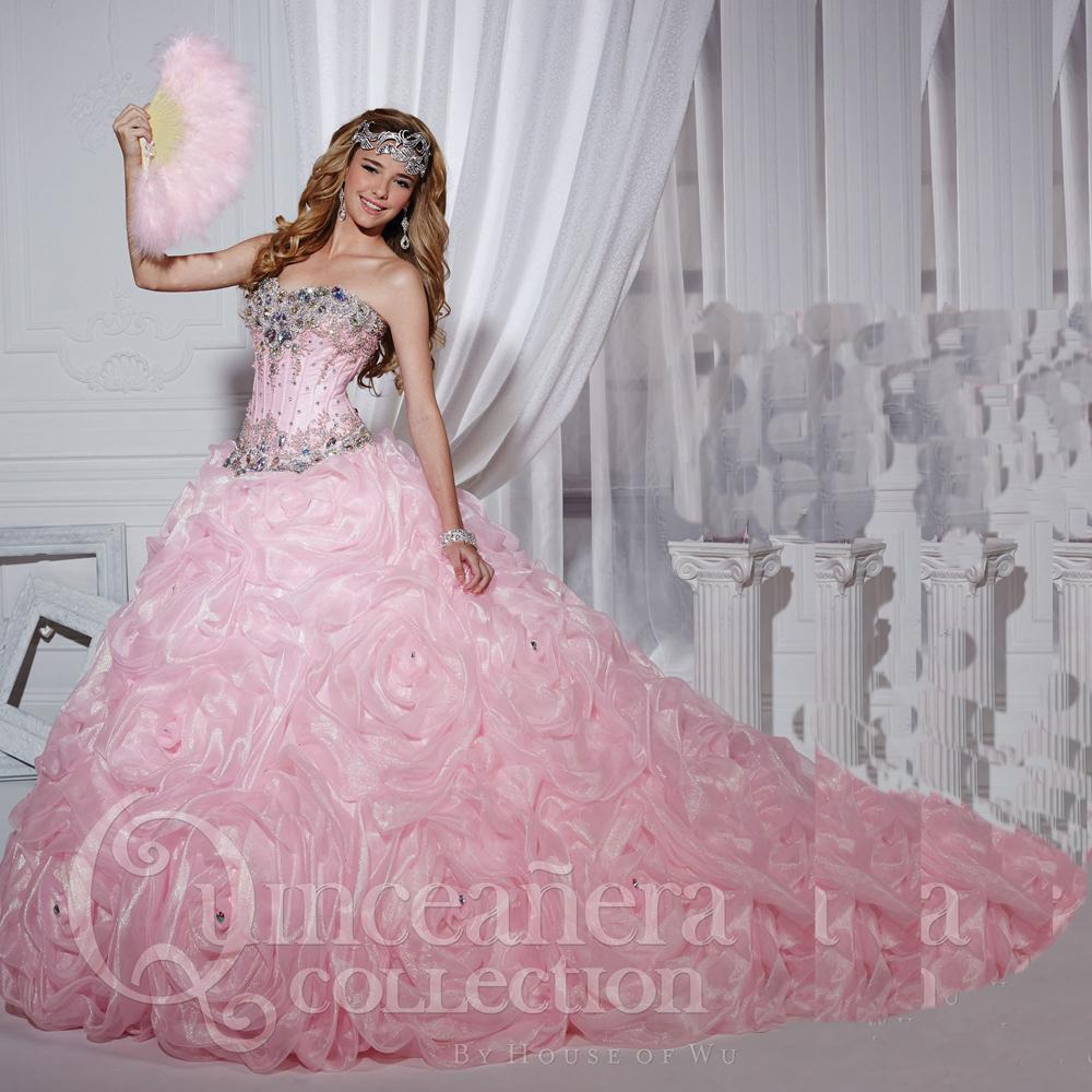 e119d497b Hot Pink Quinceanera Dresses 2016