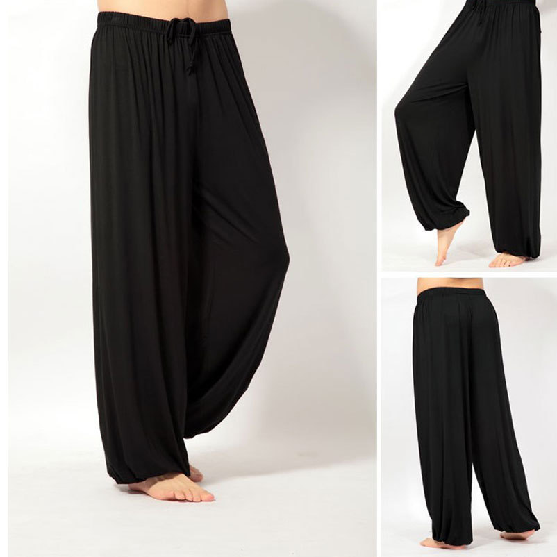 Yoga Shorts Mens Uk: Super Loose Yoga Men's Pants