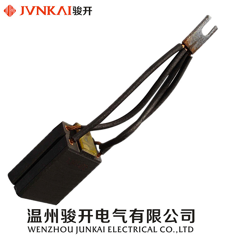 China hot sales electrical copper graphite carbon brush for motor