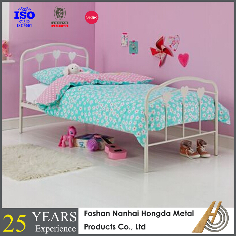 Kids Iron Metal Bed Frame Heart Shaped Beds For Sale Buy Heart Shaped Beds For Sale Kids Iron Bed Metal Bed Frame Product On Alibaba Com