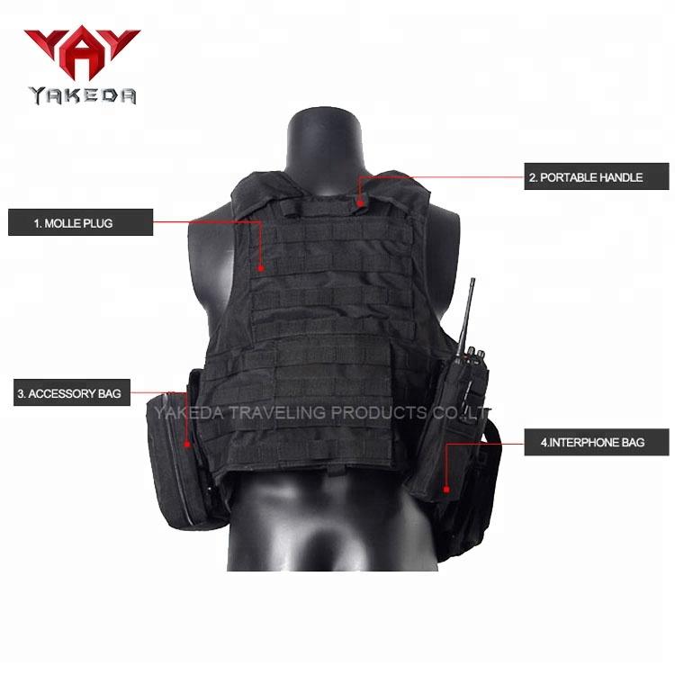 Yakeda в наличии под заказ бронежилет для охоты пуленепробиваемый военный пуленепробиваемый тактический жилет против патрубок