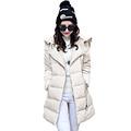 Winter Woman Lightweight White Duck Down Puffer Coat Women s Black Beige Parka Lady Hooded Down