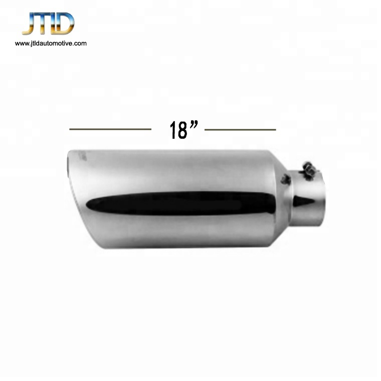 diesel exhaust tip 5 inch inlet 8 inch outlet 18 length stainless steel universal car trucks exhaust tailpipe tips buy exhaust tip stainless steel