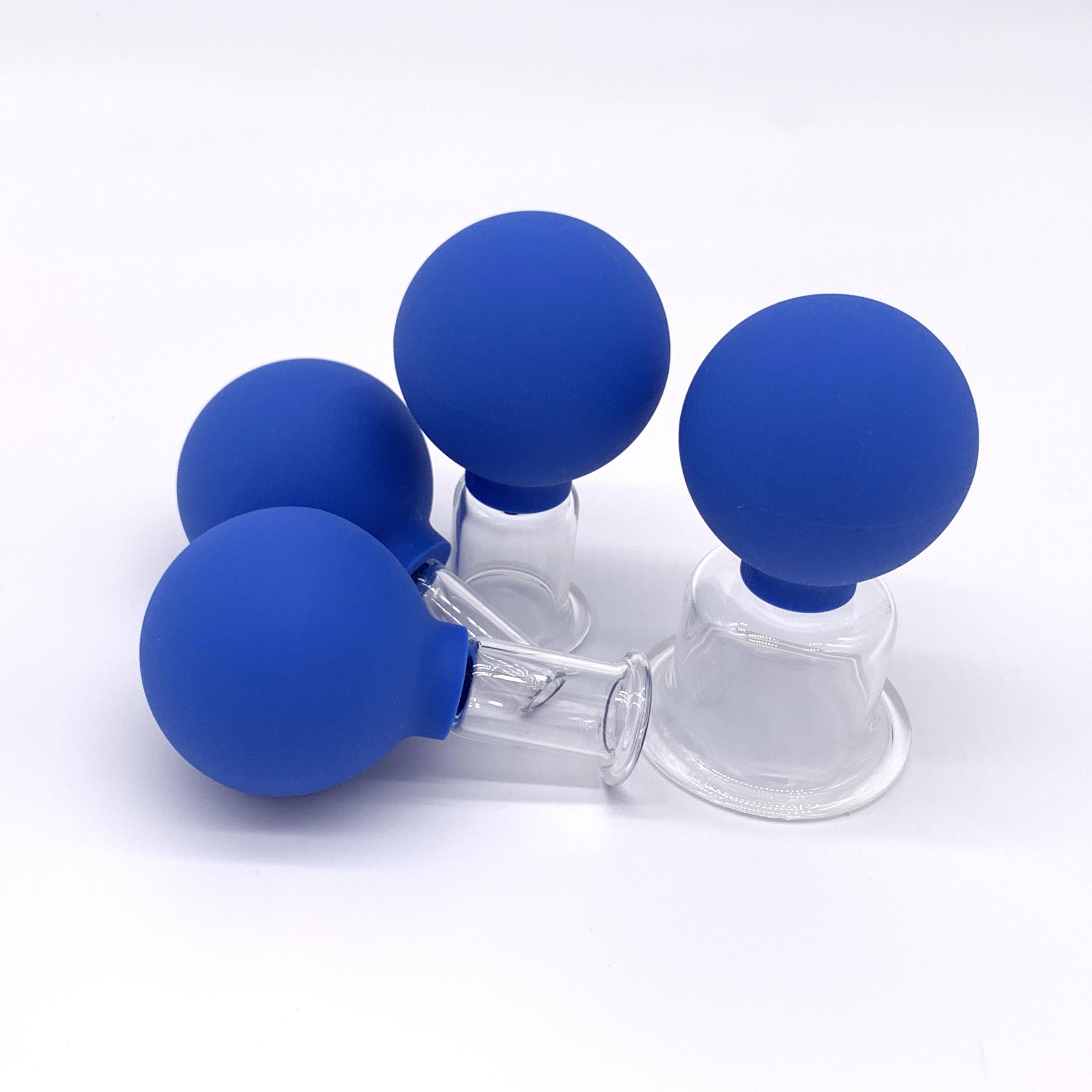 Заводской набор для терапии, мягкие массажные силиконовые чашки-присоски для красоты