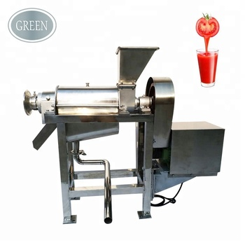 304 Stainless steel pear apple pineapple juice machine industrial fruit juice extractor for fruit and vegetables