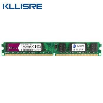 NEW Kllisre DDR2 2GB Ram 800Mhz 667Mhz work all INTEL AMD mobo compatible memory