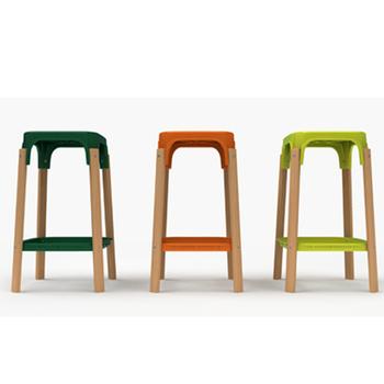 sp cial simple moderne nordique ikea designers cr atifs domicile bar en bois tabouret de bar. Black Bedroom Furniture Sets. Home Design Ideas