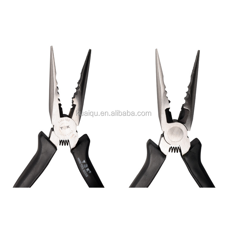 TGK-8346 Lengthened mini-nose pliers 4.5 inch multi-function electrician tip pliers