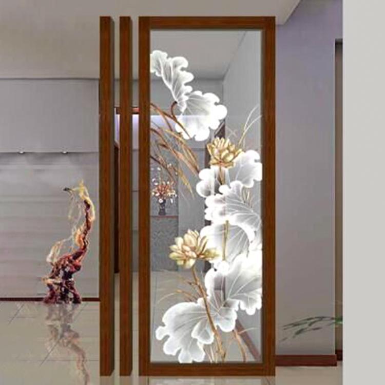 Modern Hotel Decorative Glass Flower Wall Art Buy Modern Wall Art Glass Wall Art Hotel Wall Art Product On Alibaba Com